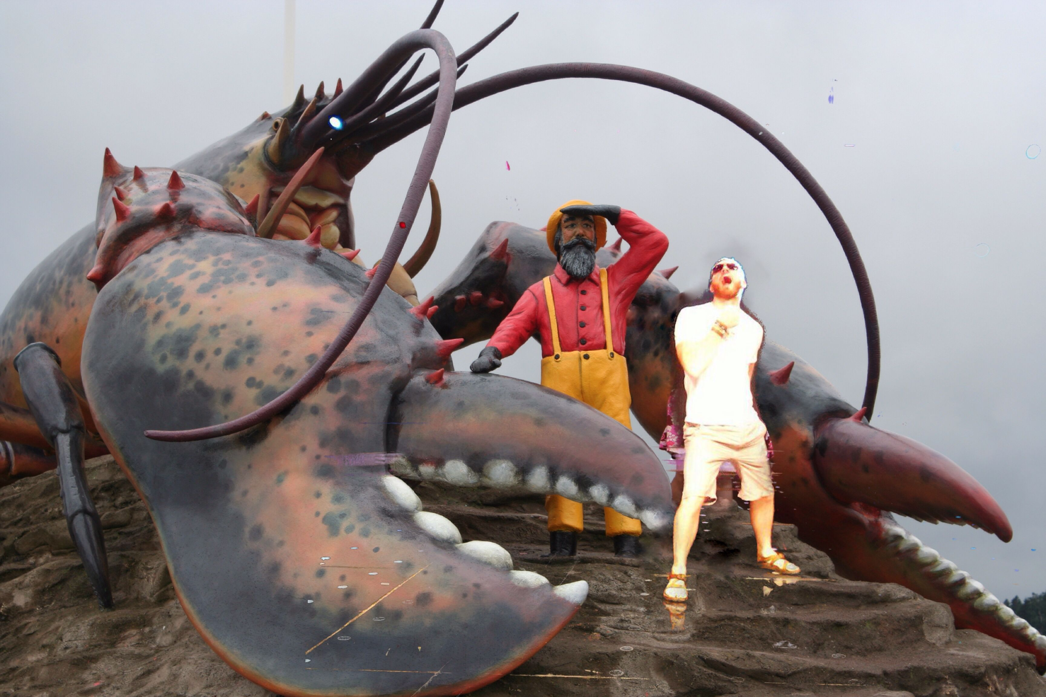 That time when I was 7 and almost got eaten by a giant lobster